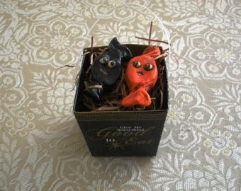 Halloween Candy Comes Alive!  Charming OOAK Ornaments by Lori Gutierrez!