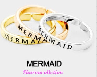 NERMAID engraving ring ( only one chose primary color )