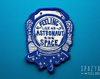 Astronaut in space Patch
