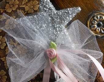 Small Will you be our Flower Girl Question Wand