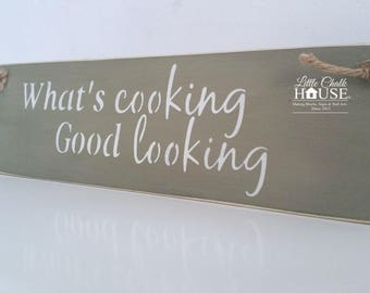 What's cooking, Good looking, painted in Annie Sloan