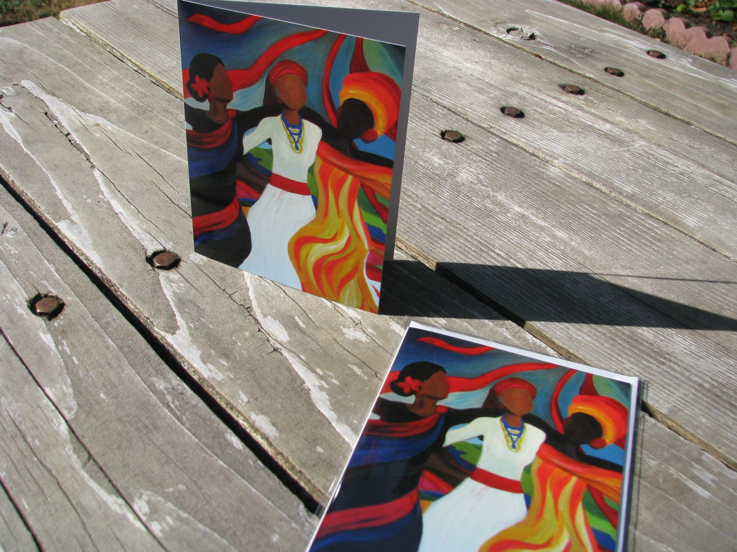 Greeting card soul sistas 4x6 greeting card print of zoom kristyandbryce Image collections