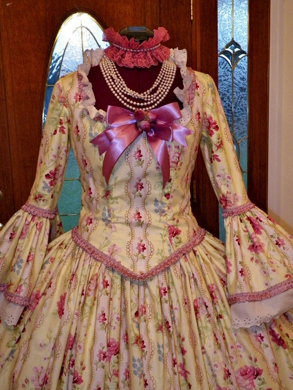 Dress, Marie Antoinette Dress, Colonial Dress, Wedding Dress, Waltz Dress, Halloween Costume, Masquerade Dress, Venice Carnival Costume