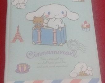 Cinnamoroll mini binder or planner