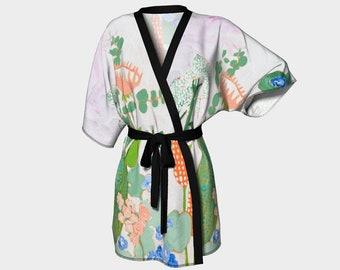Sunrise Floral Kimono