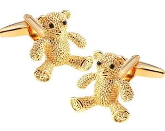 Bear Cuff Links