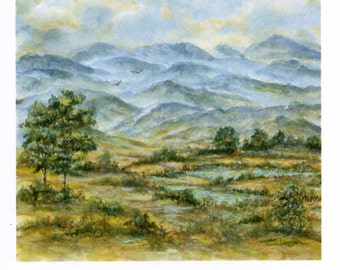 Note Cards/Blue Ridge Mountains