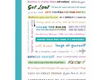 Travel Manifesto Travel Journal
