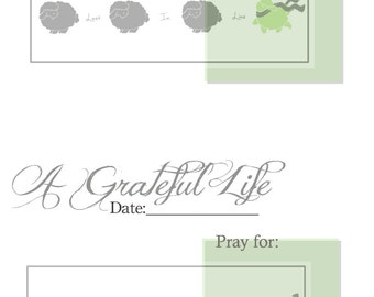 Printable: Gratitude Journaling Pages
