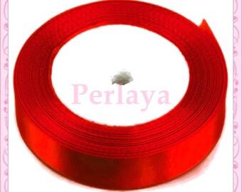 Ribbon satin 12mm red REF2708 23 meters