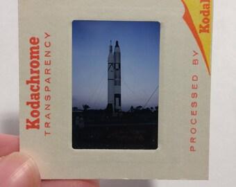 25 NASA 70's Color Slides Apollo Saturn V Gemini Titan II Launch Complex 19 Cape Canaveral Florida