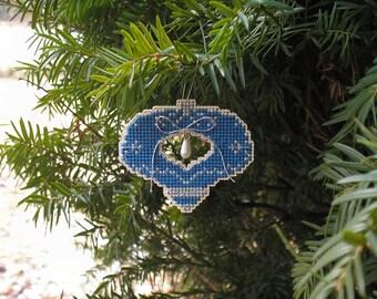A Blue Christmas Confection Ornament