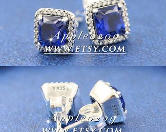 Jewelry Earrings S925 Sterling Silver Timeless Elegance , Clear CZ Stud Earrings For Women Jewelry