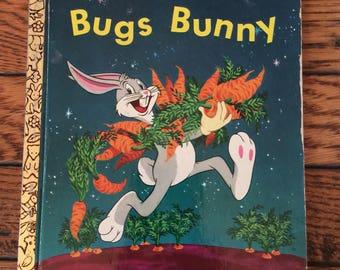 1972 Little Golden Book Bugs Bunny