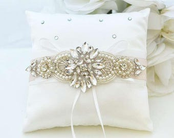 Wedding ring cushion Etsy