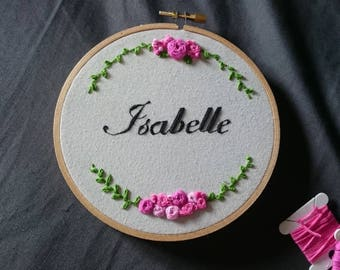 Custom Embroidery In Hoop