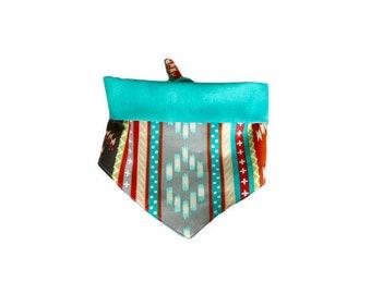 Turquoise Tribal Bandana