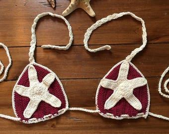 Starfish Bikini Top