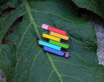 LGBTQ+ Pride Pin | LGBTQ+ Pin Series | Pride, LGBTQ+, Love is Love