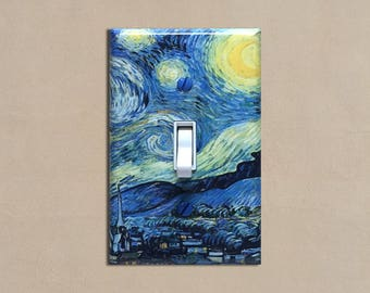 Starry Night (Van Gogh) - Light Switch Plate Covers Home Decor Outlet
