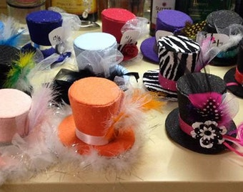 Custom Mini Top Hat: Set of 14