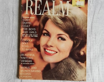 Vintage Woman's Realm Magazine 1961, Retro Woman's Realm Magazine, Collectable Magazine