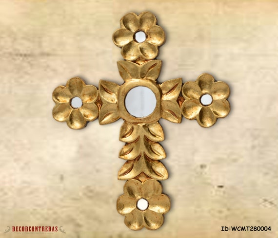 11.8 Large Gold christian wall crosses Decorative wall