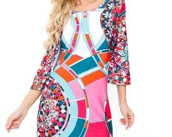 Eclectic - womens dress, bohemian dress, boho dress,  womens dresses, Tunic dress