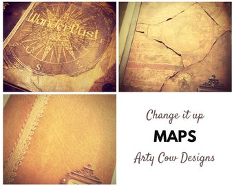 Map Change - Personalise, customise