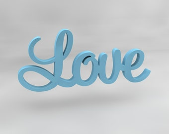 Love Wooden Wall Sign, Love Wall Decor. Love Wall Letters. Wooden wall sign. Love sign