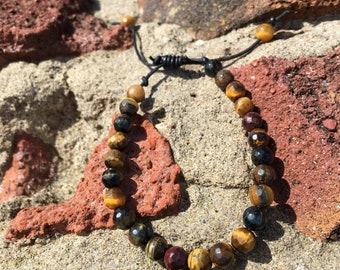 Tigers Eye beaded bracelets