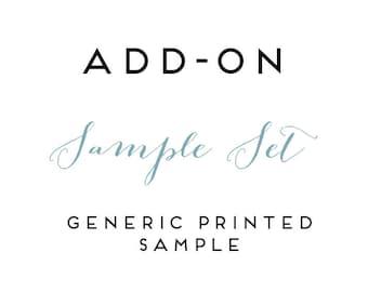 SAMPLE SET-Printed Samples