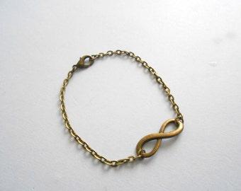 Infinity bracelet - infinite bracelet - infinity charm - infinity jewelry - infinity symbol