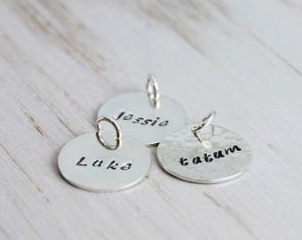 personalized name disc | medium 5/8"