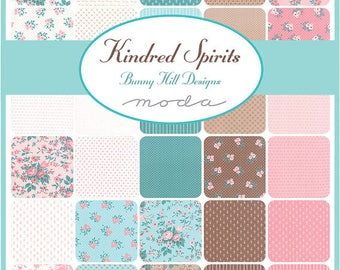 """Kindred Spirits by Bunny Hill Designs 5"""" Charms for Moda"""