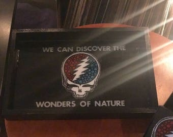 We can Discover the Wonders of Nature Rolling Tray