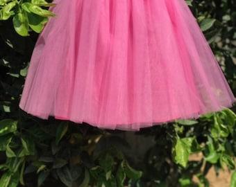 Infant/Toddler Tulle Skirt Custom Color