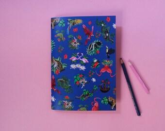 JUNGLE notebook / memo book Jungle