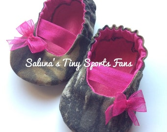 Mossy Oak Baby Mary Jane Shoes