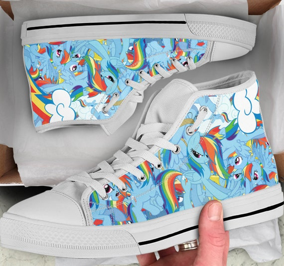My Men's Shoes Women's Colorful High Sneakers Looks Pony My Girls Little like sneakers Shoes Tops Little Pony Tops Converse Shoes high q1wqraZ6
