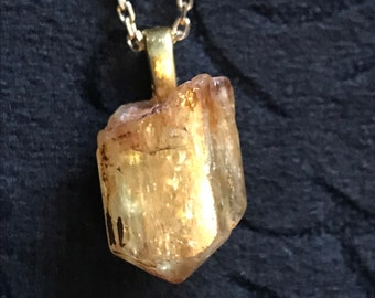 Yellow Apatite Necklace