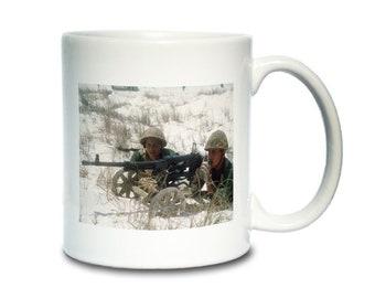 Coffee Mug; Sg-43 Goryunov Medium Machine Gun