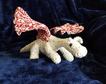 Crocheted Dragon