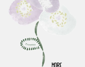 More flowers Illustration