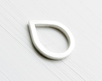 Thorn Ring - Teardrop Ring - Minimalist Ring - Geometric Ring - Geometric Thorn Ring - Promise Ring - Couples Jewelry