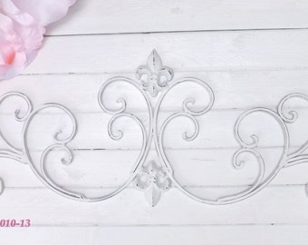 Fleur De Lis Wall Decor,Metal Wall Decor,Headboard Cyber Monday