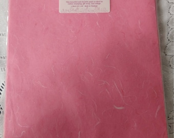 "MULBERRY PAPER. Each package contains one folded 25""x36"" sheet. Choose your color."