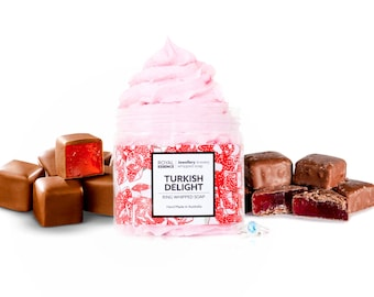 Turkish Delight (Whipped Soap)