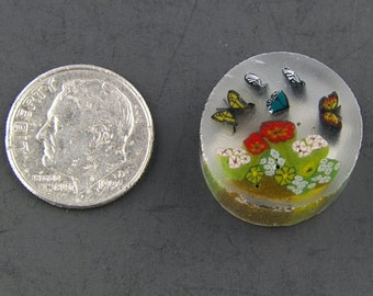 The Butterfly Garden by Greg Chase Murrine Boro Cane 6 grams - 125 D