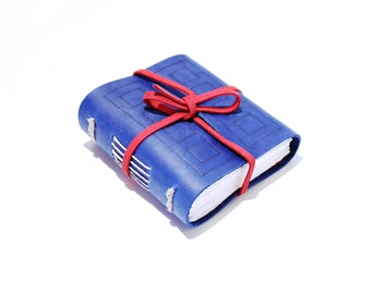 The River Song - Handmade Leather Journal based on River Songs TARDIS diary from Doctor Who